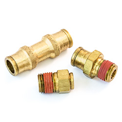 Non-DOT Push-In Air Brake Fittings