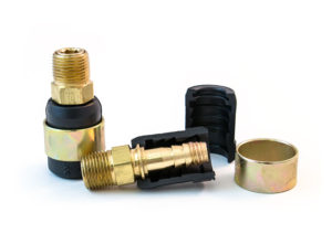 "Quick-Fix Kit – For 3/8"" Hose with 3/8"" Fittings and Brass Barb"