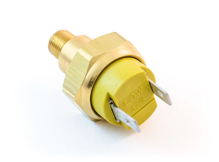 Low Pressure Warning Switch, Blade Terminals