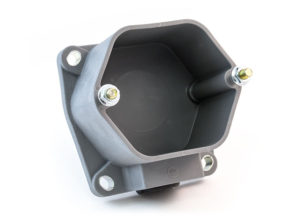 """Surface Mounted Adapter Box, 3"""", Bottom Entry"""