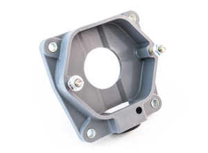 """Surface Mounted Adapter Box, 1"""", Bottom Entry"""