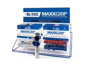 MAXXGrip Display Rack with Aluminum & Powder-Coated Combo Packs