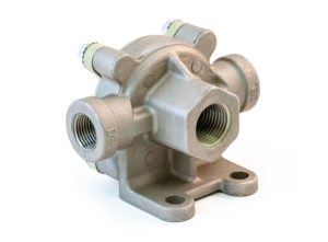 "Quick Release Valve for Air Ride Axles, 1/2"" Supply, 3/8""x3/8"" Delivery"