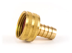 Barb to Female Garden Hose, Swivel, 1/2""