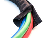 3-in-1 MAXXWrap – 15ft Red & Blue Hose, Sonogrip ABS Cable and Aluminum Dura-Grips 3