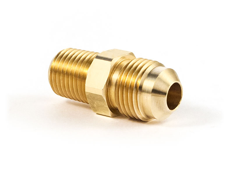 Flare male pipe connector ″x ″ tramec sloan