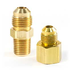 45° Brass Flare Fittings
