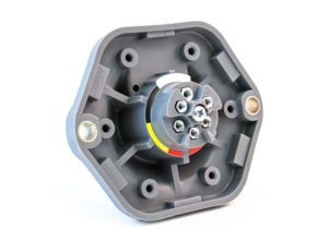 Large Flange with Screw Terminals - Solid Pin