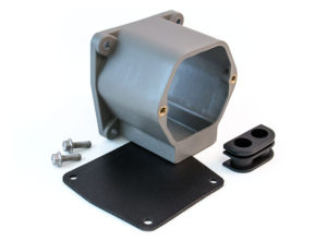 """Surface Mounted Adapter Box, 4"""", Bottom Entry"""