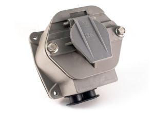 "30-Pin Nylon 7-Way Receptacle, Split Pin, 4"" Box"