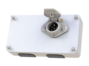 Jumbo Smart Box with Receptacle, Solid Pin