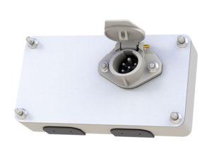 Jumbo Smart Box with Receptacle, Split Pin