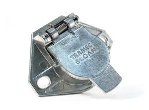 Zinc 7-Way Socket, Split Pin