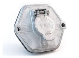 7-Way Socket, Split Pin, 20A