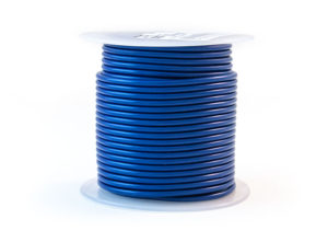 Primary Wire - AWG 16, Blue, 100'