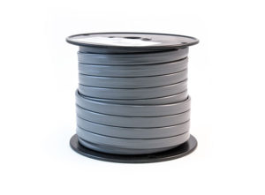 Trailer Cable, Flat Gray, 4/14 GA, 100ft