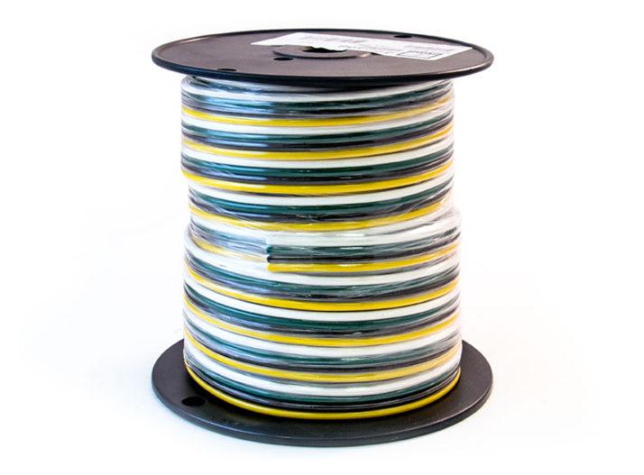 Parallel Wire - 4 Conductor, 12 GA