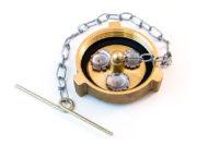 Brass Fuel Cap, 2″ 3