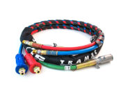 3-in-1 Wrap – 20ft Red & Blue Hose with Dura-Grips 2