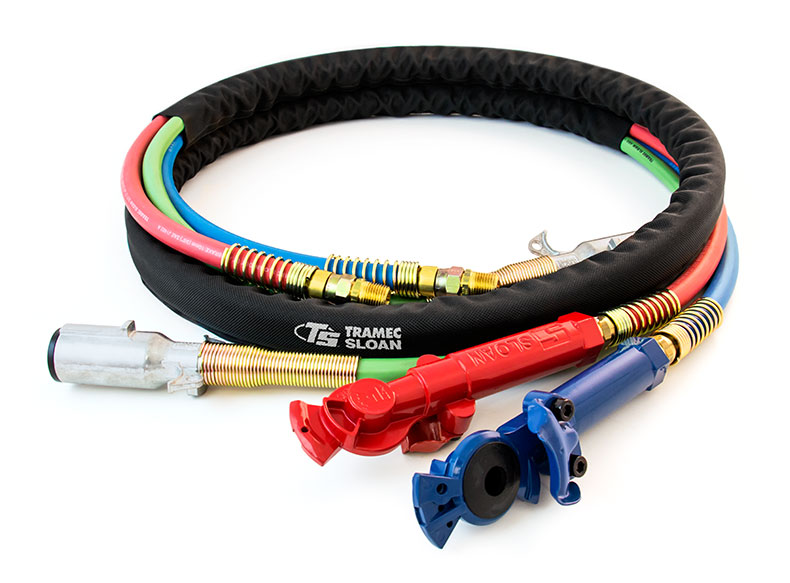 3 In 1 Maxxwrap 12ft Red Amp Blue Hose Zinc Abs Cable