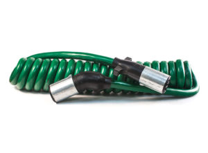 """Sonogrip ABS Cable - 12ft, Coiled, XT Jacket, 12"""" Leads"""