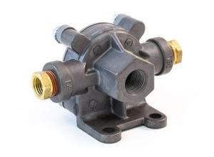 "Quick Release Valve, 1/4"" Supply, 1/4""x1/4"" Delivery"