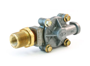 "In-Line Quick Release Valve, 3/8"" Delivery, 1/4"" Input, 1"" Fitting"
