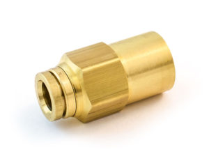 """Female Connector, 1/2""""x3/8"""""""