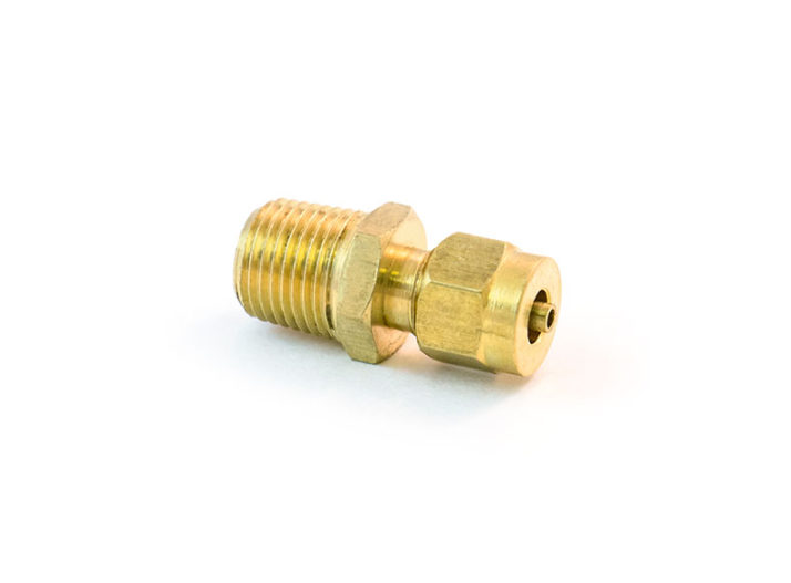 "Transmisson Male Connector, 1/8""x1/16"""