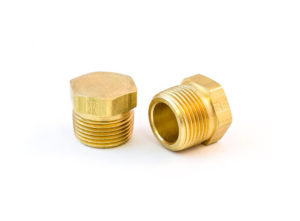 "Hex-Head Pipe Plug, Hollow Core, 3/4"""