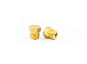 "Hex-Head Pipe Plug, Hollow Core, 1/8"""