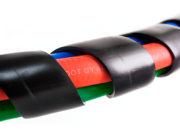 3-in-1 Wrap – 20ft Red & Blue Hose with Dura-Grips 4
