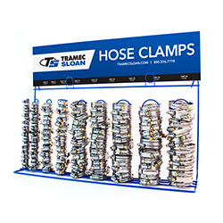 Hose Clamp Display Racks