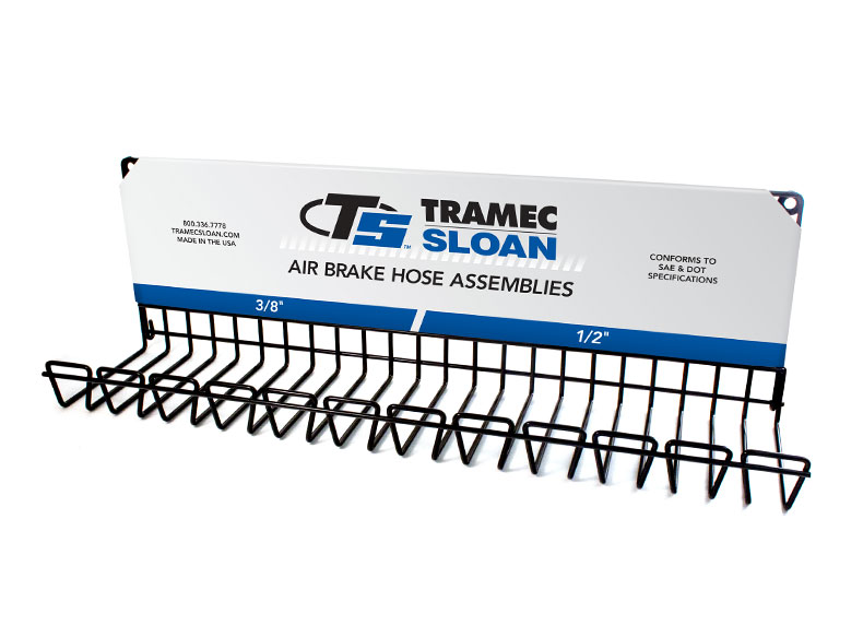 Air Brake Hose Assembly Display Rack Tramec Sloan
